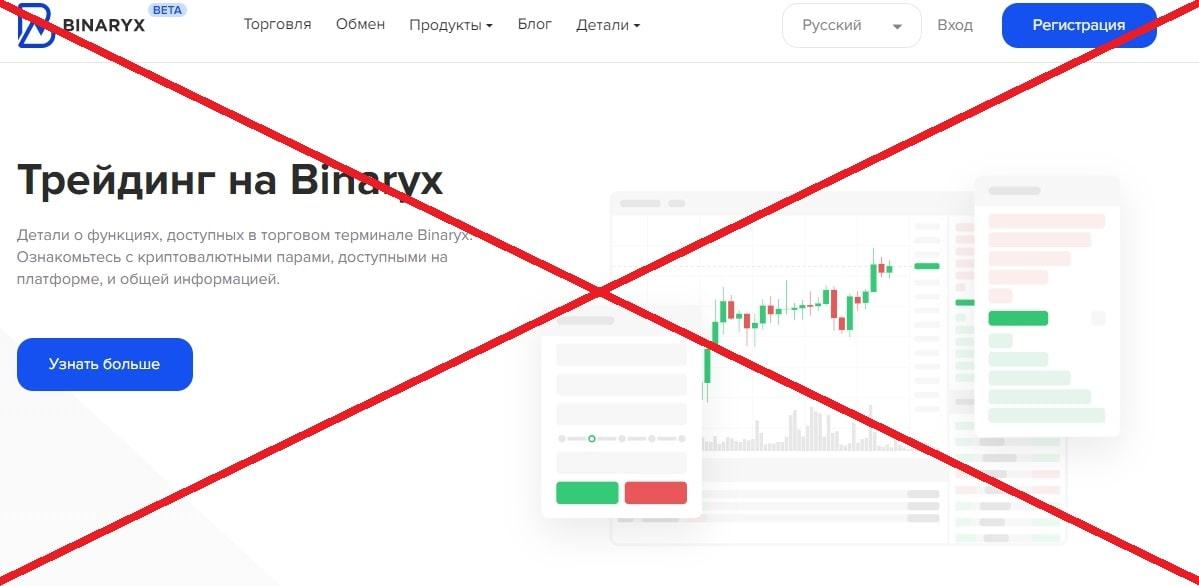 Биржа Binaryx (binaryx.com) - реальные отзывы и обзор